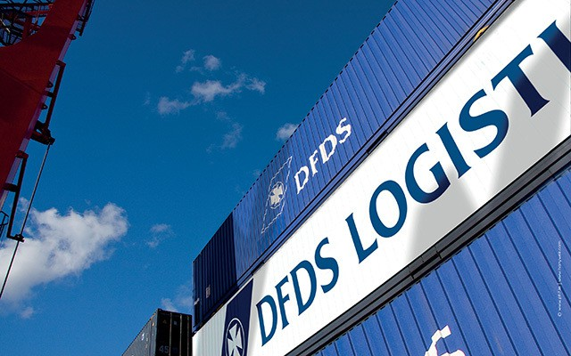 DFDS Logisitics Container
